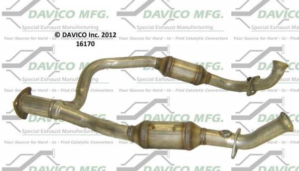 Davico Manufacturing - CARB legal Direct fit converter