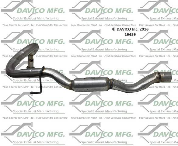 Davico Manufacturing - CARB legal Direct fit converter