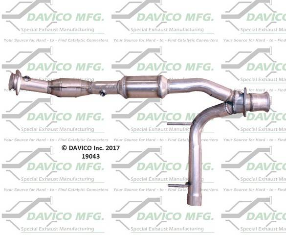 Davico Manufacturing - CARB Exempt Direct Fit Catalytic Converter