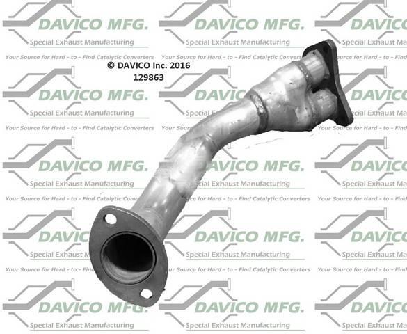 Davico Manufacturing - Prebent exhaust pipe