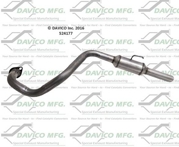 Davico Manufacturing - EXHAUST RESONATOR PIPE