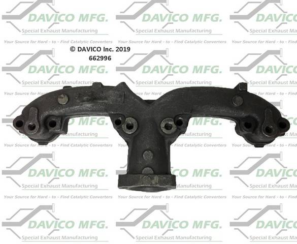 Davico Manufacturing - Stand alone Exact-Fit exhaust manifold