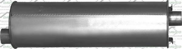 Davico Manufacturing - Direct fit Muffler