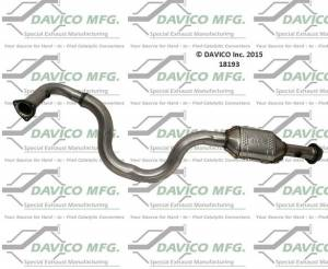 Davico Manufacturing - CARB legal Direct fit converter - Image 4