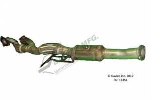 Davico Manufacturing - CARB legal Direct fit converter - Image 3