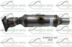 Davico Manufacturing - CARB legal Direct fit converter - Image 1