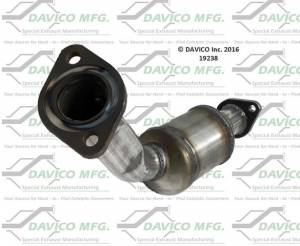 Davico Manufacturing - CARB Exempt Direct Fit Catalytic Converter - Image 2
