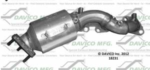 Davico Manufacturing - CARB Exempt Direct Fit Catalytic Converter - Image 5