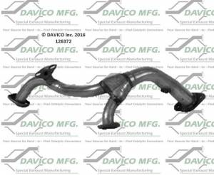 Mufflers & Exhaust Pipes - Davico Manufacturing - Prebent exhaust pipe