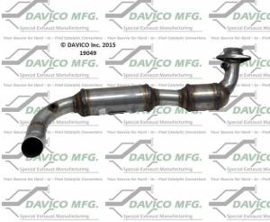 Davico Manufacturing - CARB Exempt Direct Fit Catalytic Converter - Image 3