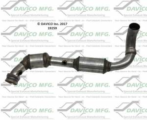 Davico Manufacturing - CARB Exempt Direct Fit Catalytic Converter - Image 1