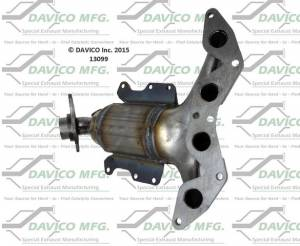 Davico Manufacturing - Direct Fit Catalytic Converter - Image 2