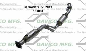 Davico Manufacturing - CARB Exempt Direct Fit Catalytic Converter - Image 4