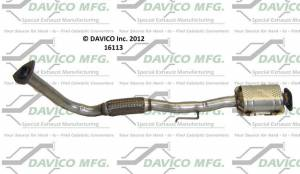 Davico Manufacturing - Direct Fit Catalytic Converter - Image 1