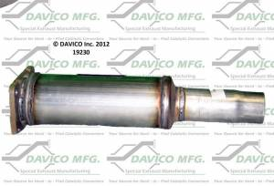 Direct-Fit Converters - NY - Davico Manufacturing - CARB Exempt Direct Fit Catalytic Converter