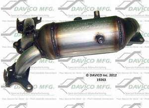 Direct-Fit Converters - Federal EPA - Davico Manufacturing - Catalytic Converter