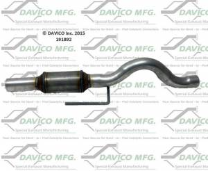 Direct-Fit Converters - CARB - Davico Manufacturing - CARB Exempt Direct Fit Catalytic Converter
