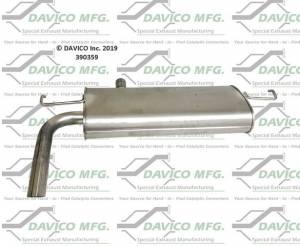 Davico Manufacturing - Direct fit Muffler - Image 2