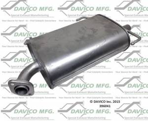 Davico Manufacturing - Direct fit Muffler - Image 2