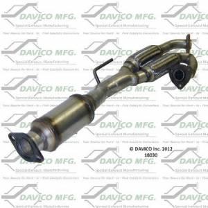 Direct-Fit Converters - Federal EPA - Davico Manufacturing - Dealer Alternative Catalytic Converter