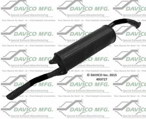 Davico Manufacturing - Direct fit Muffler - Image 1