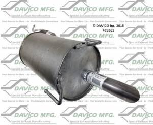 Davico Manufacturing - Direct fit Muffler - Image 3