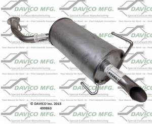 Davico Manufacturing - Direct fit Muffler - Image 3