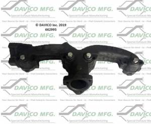 Exhaust Manifolds - Davico Manufacturing - Stand alone Exact-Fit exhaust manifold