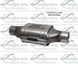 Universal Converters - CARB - Davico Manufacturing - CARB Exempt Universal Catalytic Converter